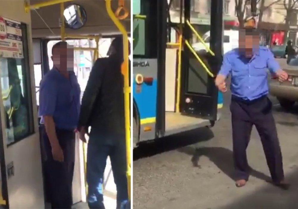 Водитель автобуса обматерил пассажирку в Алматы: стали известны подробности