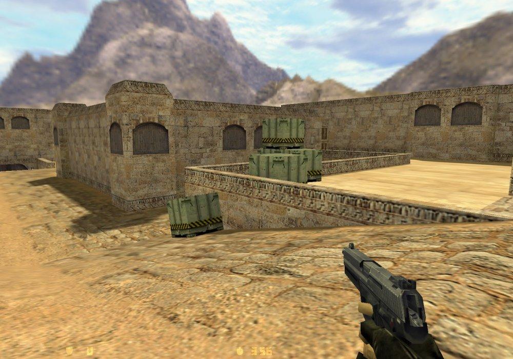Карта из игры Counter-Strike появится под Астаной