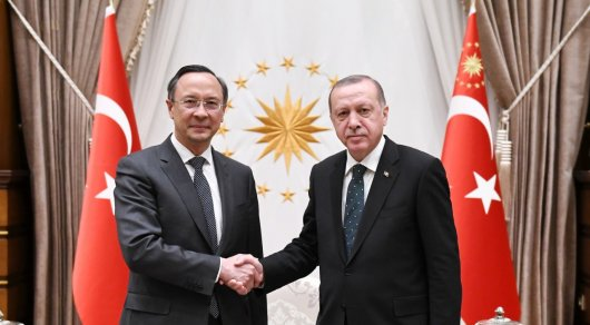 Казахстан заинтересован вразвитии транспортно-транзитного потенциала сТурцией