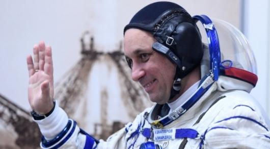Русский космонавт выполнил просьбу казахстанцев