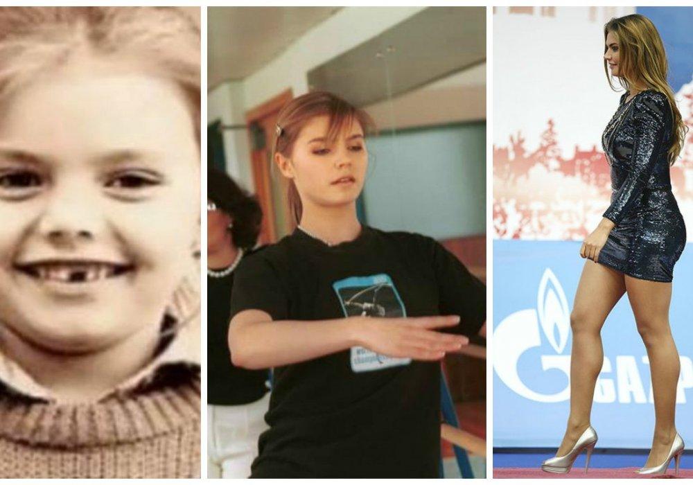 СМИ показали, как менялась Алина Кабаева за 35 лет