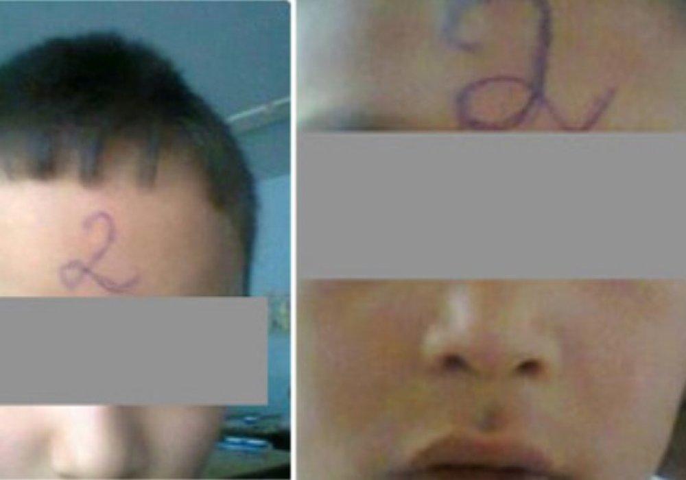 Учителя рисовали двойки на лбах учеников: уволен директор школы