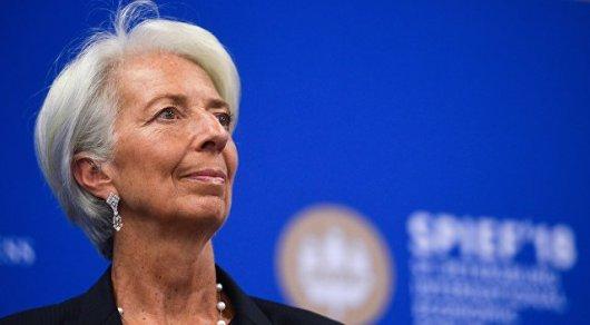 Лагард: над мировой экономикой сгущаются тучи
