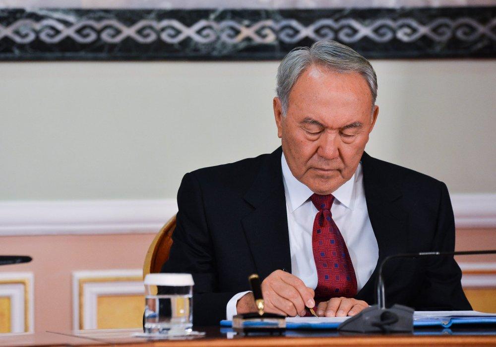 Назарбаев подписал несколько законов