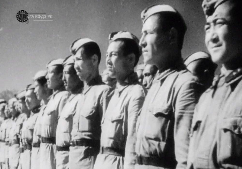 Как казахстанцы уходили на войну с фашизмом