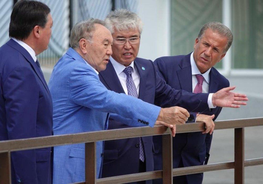 Назарбаеву показали новый трамплин в Щучинске