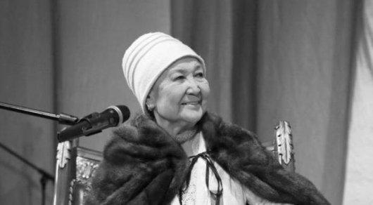 Ушла изжизни национальная исполнительница Казахстана Замзагул Шарипова