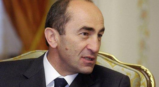 Экс-президенту Армении предъявили обвинение всвержении конституционного строя