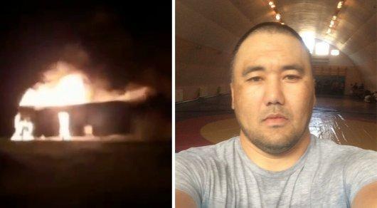 Казахстанец Ержан Амарханов спас 47 пассажиров из горящего автобуса в России