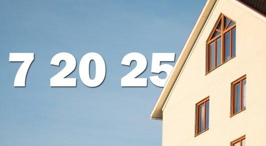 """""""7-20-25"""": Объем выданных ипотечных кредитов за год превысил 100 млрд тенге"""