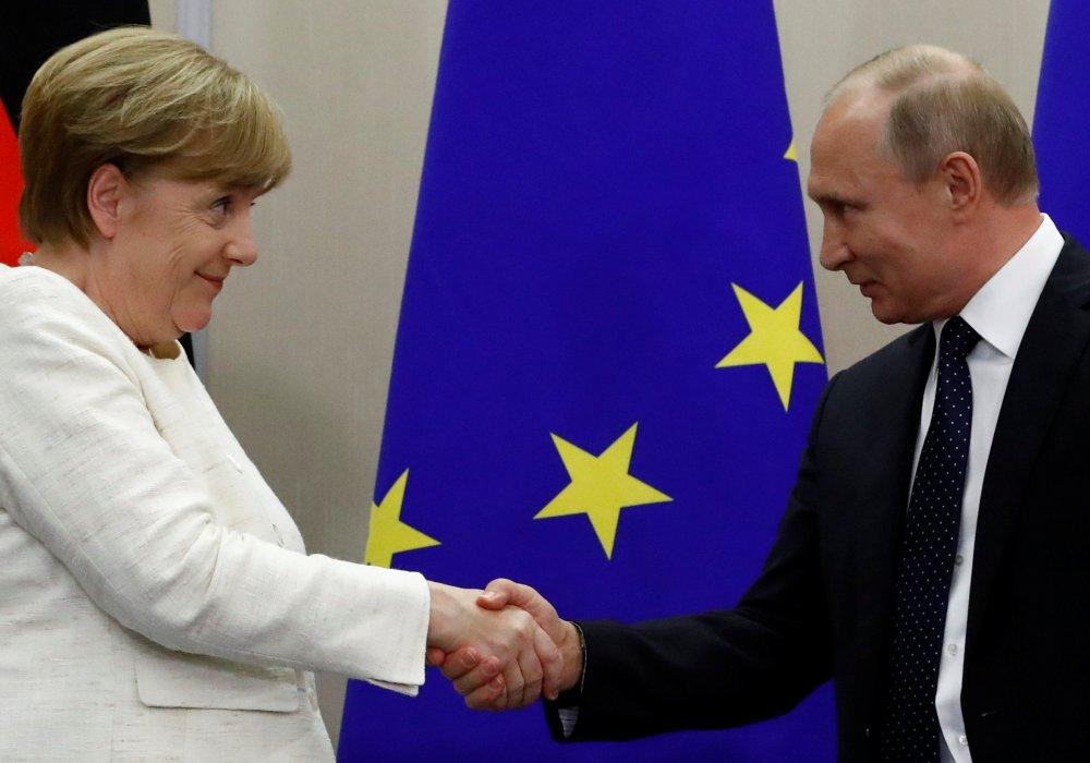 Путин едет к Меркель во время санкций: чего ожидать от встречи