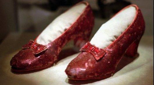 Украденные башмачки Дороти отыскали спустя 13 лет— неволшебники, аФБР