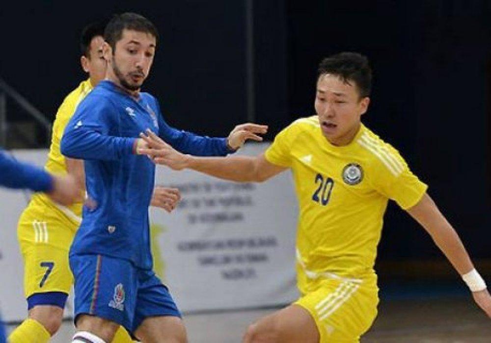 Сборная Казахстана по футзалу обыграла Азербайджан в товарищеском матче