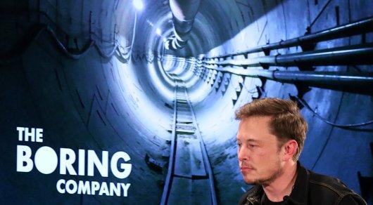 Илон Маск анонсировал открытие подземного тоннеля под Лос-Анджелесом