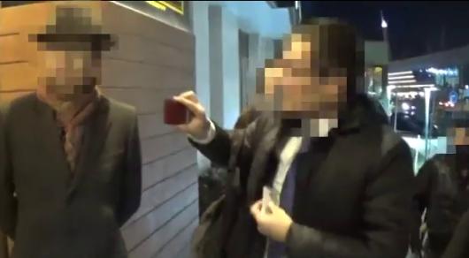 Появилось видео задержания должностных лиц Минкультуры