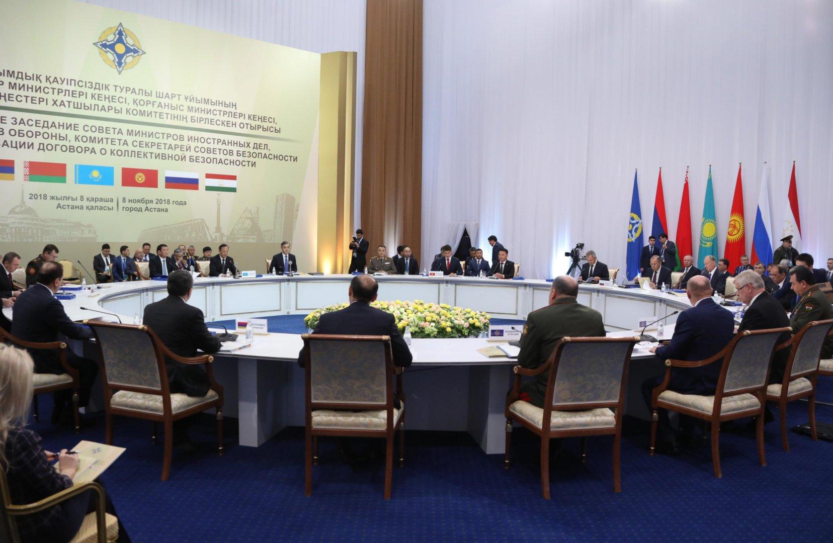 Проблемы международной и региональной безопасности обсудили в Астане