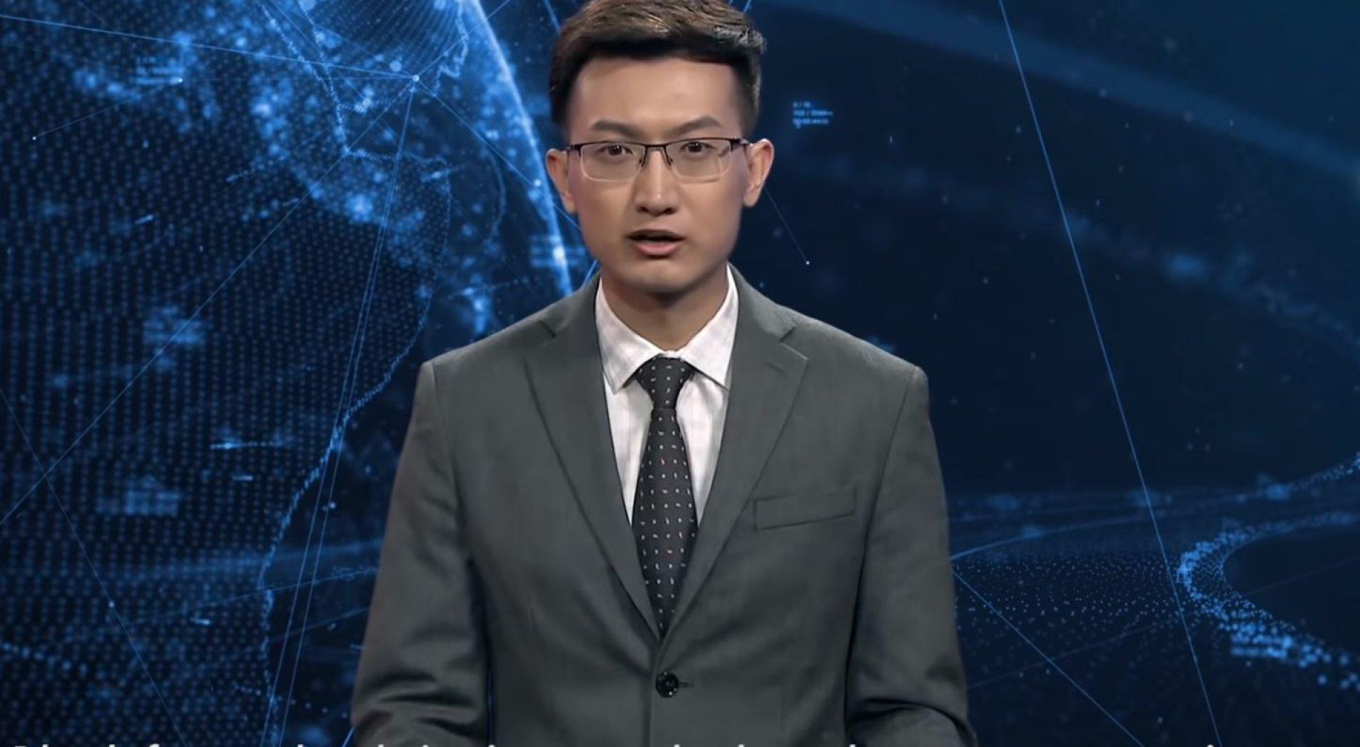 Китайский ведущий новостей оказался не человеком
