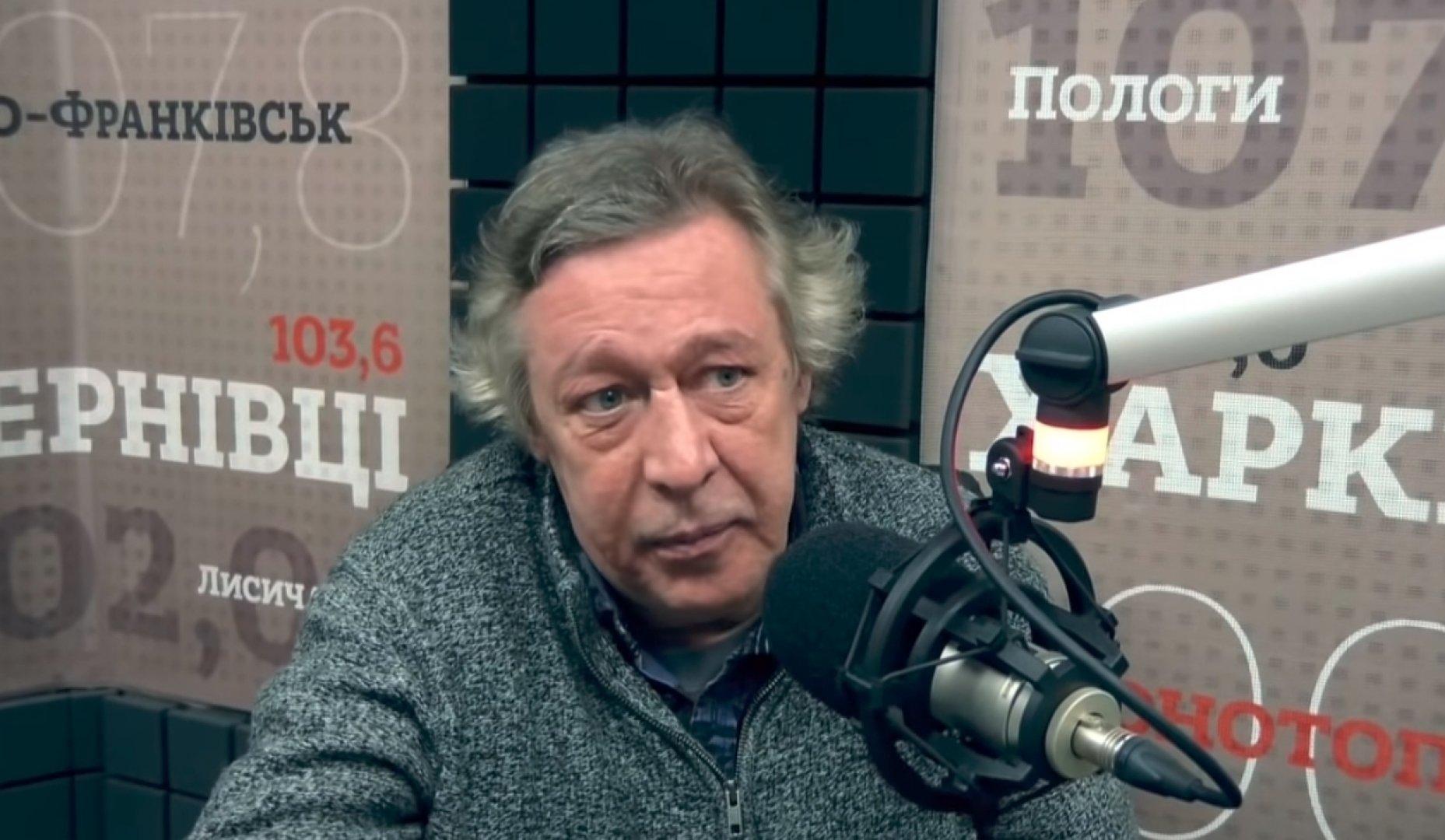 Михаил Ефремов ответил на призыв лишить его звания заслуженного артиста