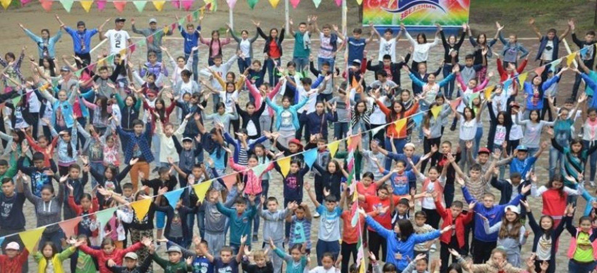 Уникальная природа Катарколя привлекает детей со всего Казахстана