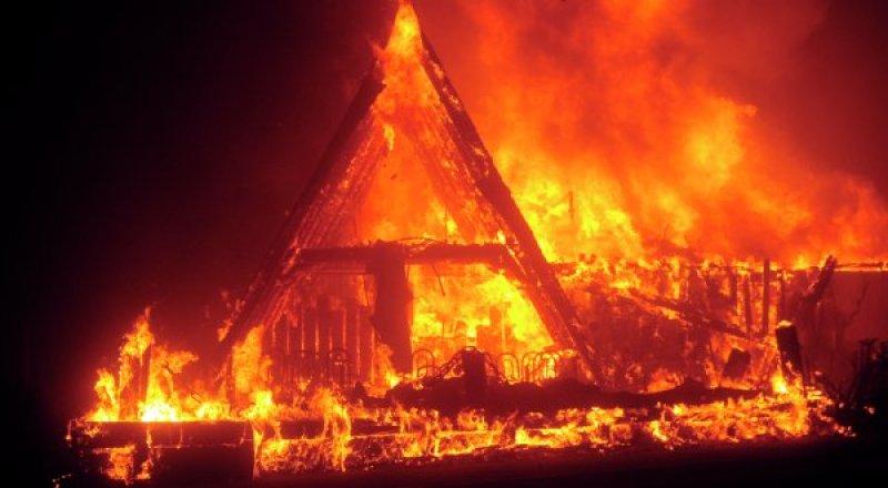 Пожар в северной Калифорнии продолжается десятый день