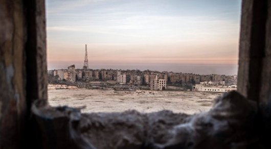 Алеппо обстреляли снарядами схлором— вражда вСирии