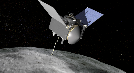NASA покажет приземление зонда на астероид в прямом эфире