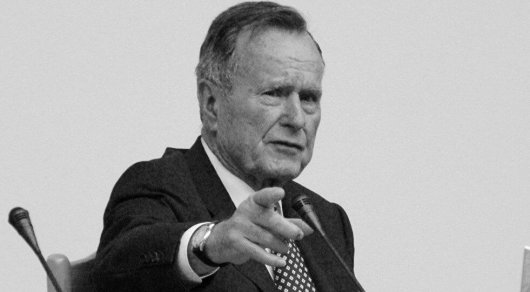 Скончался Джордж Буш-старший