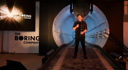 Маск открыл высокоскоростной туннель под Лос-Анджелесом