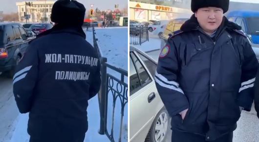 ДТП в Астане: Полицейский был пьян (ВИДЕО)