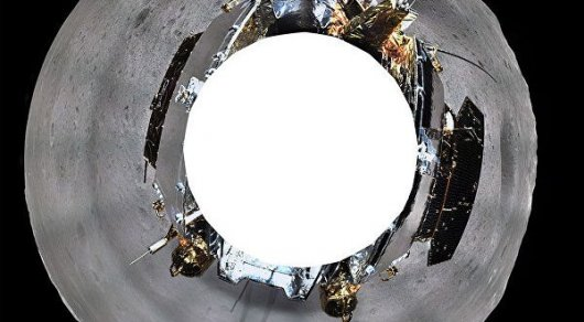 Китайский аппарат прислал панорамные кадры  обратной стороны Луны