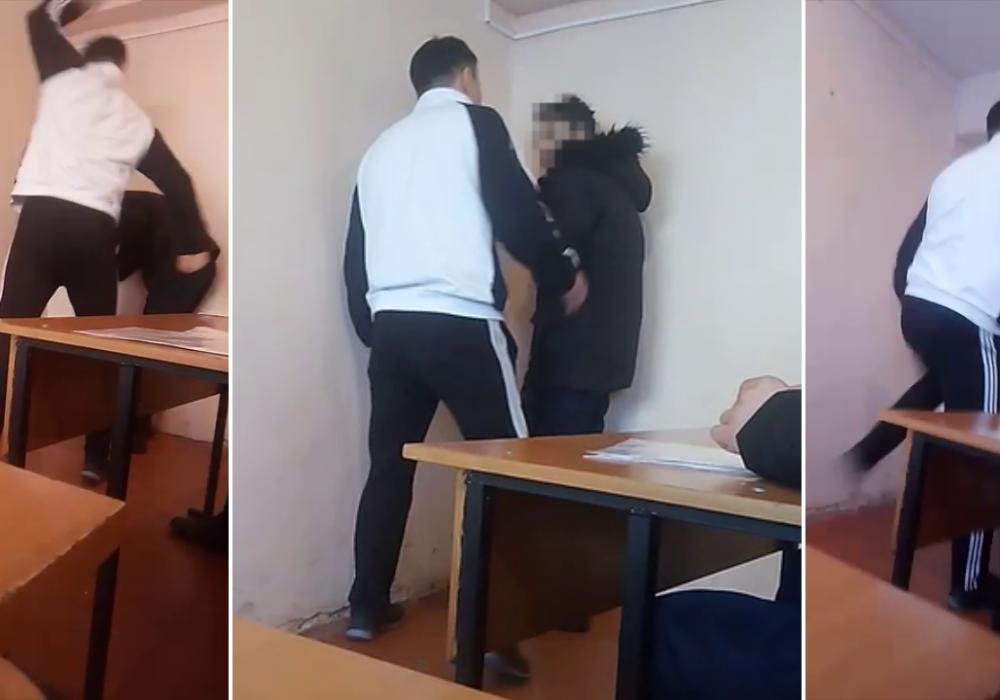 Преподаватель избил учащихся колледжа в Жаркенте: в сети появилось видео