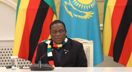 Мы очень сильно стремимся, чтобы у нас был путь развития как у Казахстана, - президент Зимбабве
