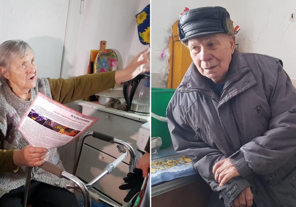 """""""Тяжело за хлебом ходить"""". Как живет семья 90-летних тружеников тыла в Астане"""