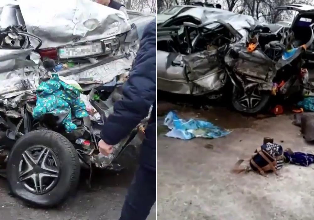 Массовое ДТП на Кульджинке: погибли 3 человека