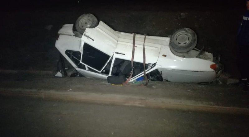 Несколько аварий подряд произошло на одном месте в Алматы