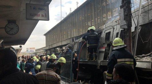 ВЕгипте врезультате сильного возгорания  впоезде погибли 24 человека