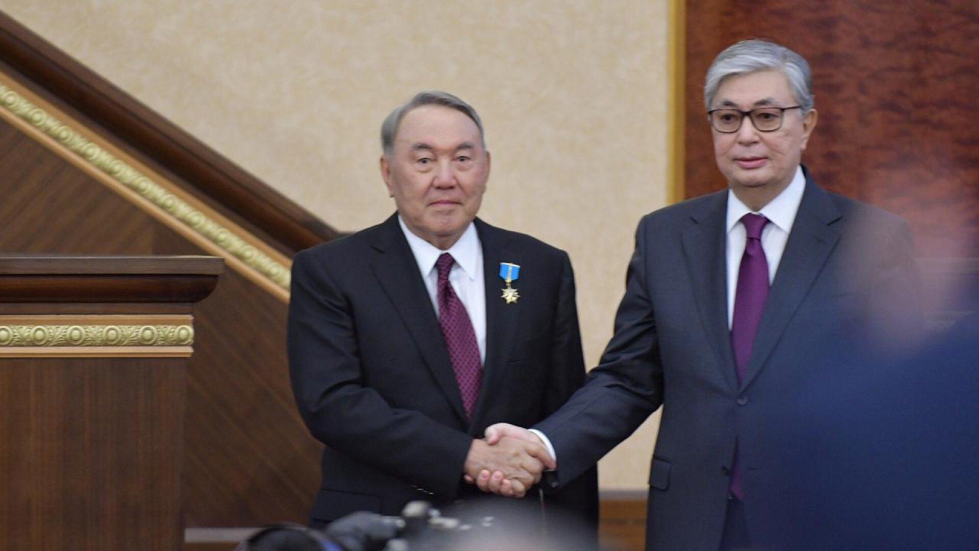 Токаев присвоил Назарбаеву звание Халык Каһарманы