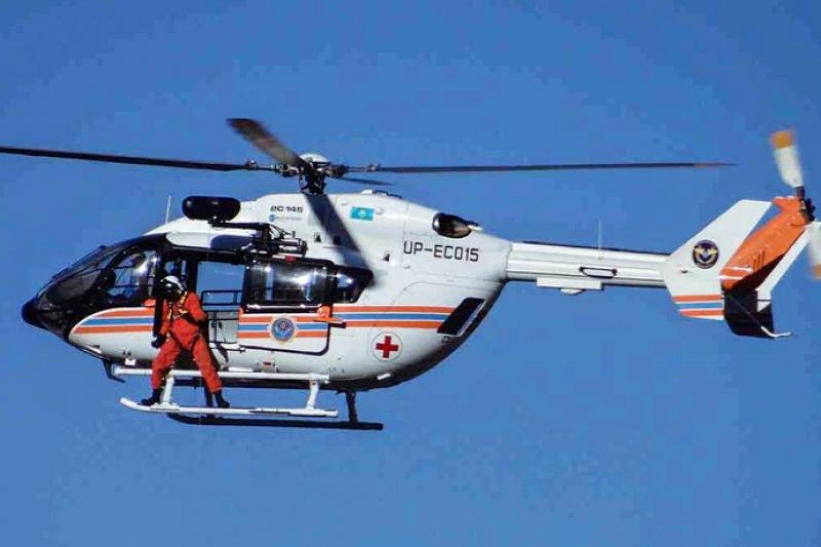 Вертолет доставил больного из Осташкова в Тверь