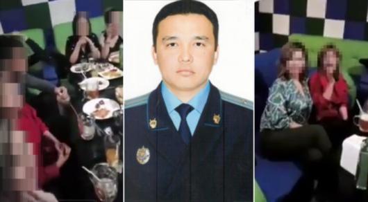 Байконурский прокурор подтвердил свое участие в застолье с девушками