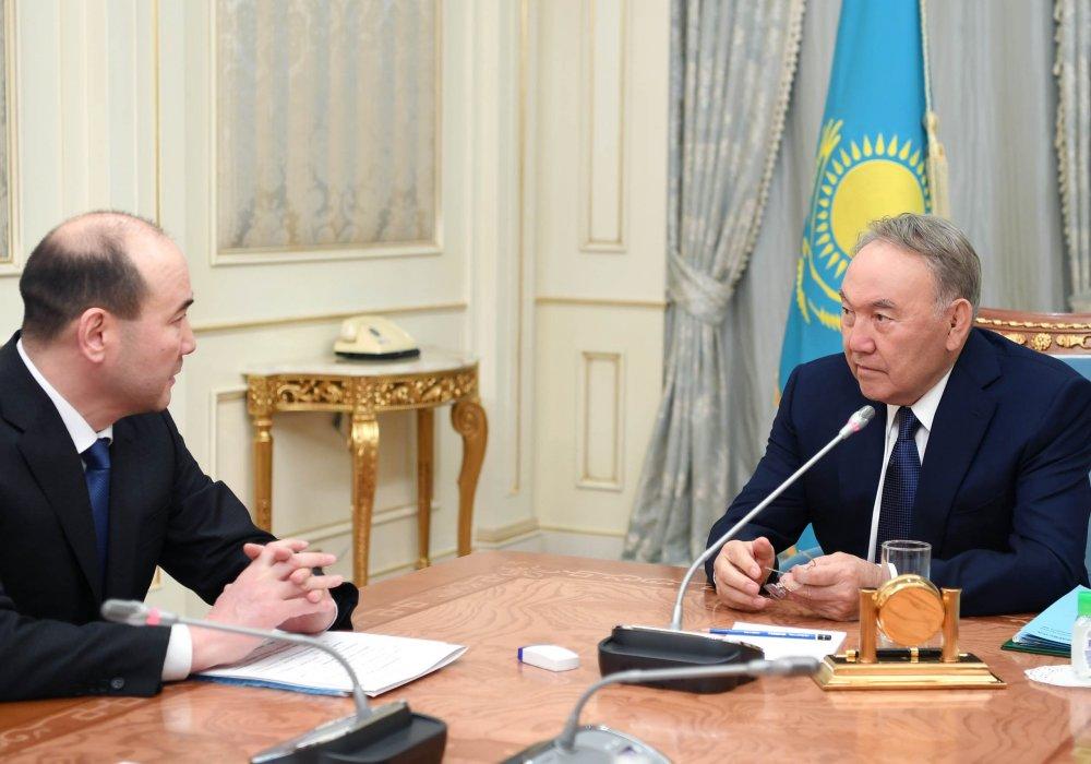 Назарбаев принял генерального прокурора