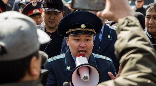Закон о мирных демонстрациях разработают в Казахстане