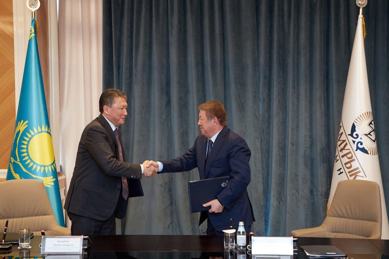 """Самрук-Қазына"" и ""Атамекен"" заключат 10 оффтейк-контрактов с казахстанскими бизнесменами"