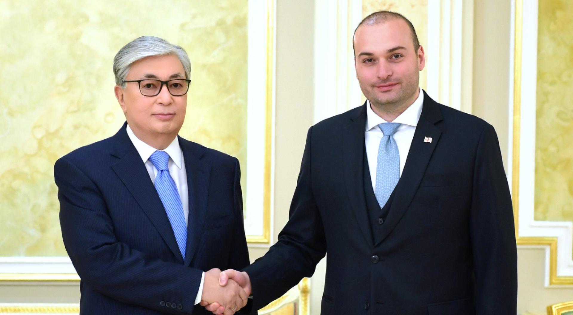 Токаев: Казахстан инвестировал в Грузию 450 миллионов долларов