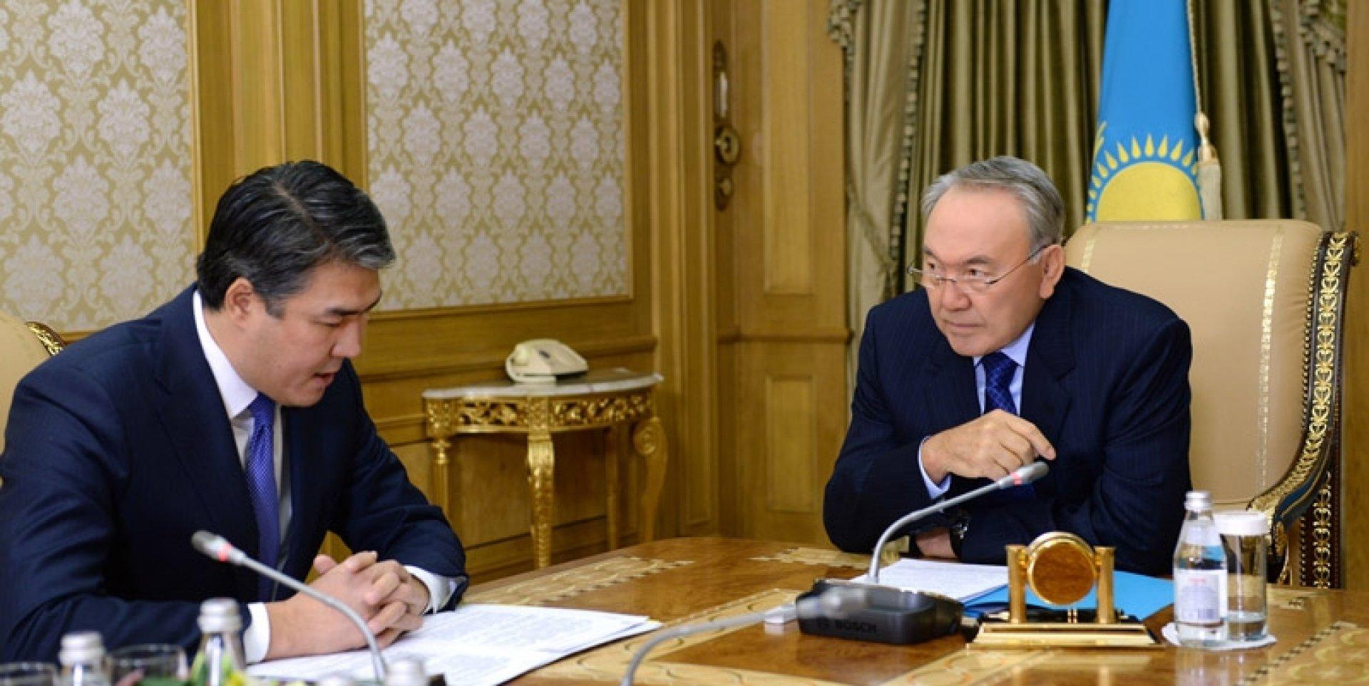 Назарбаев принял Исекешева