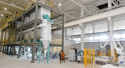 Роботизированный комбикормовый завод открыт в СКО