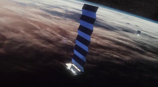 SpaceX запустила ракету Falcon 9 с 60 спутниками для космического интернета