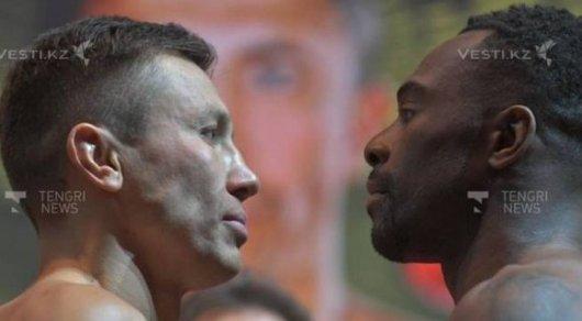 Геннадий Головкин в 4-м  раунде нокаутировал Стива Роллса