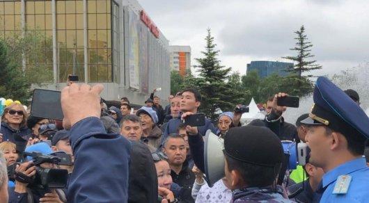 """Я сожалею, что призывал к митингу, - организатор группы """"Оян қазақ"""" (видео)"""