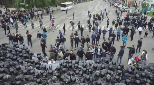 Митинги в Алматы и Нур-Султане: В МВД показали видеозаписи