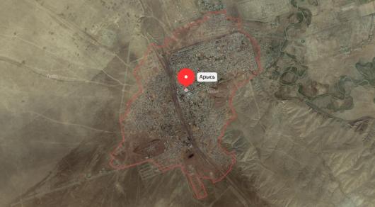Землетрясение произошло в Арыси